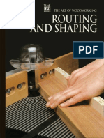 The Art of Woodworking - Routing and Shaping 1993