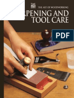 The Art of Woodworking - Sharpening and Tool Care 1994