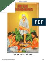 Sai Satya Vrat