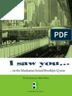 I Saw You on the Manhattan