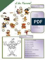 Islcollective Worksheets Grundstufe a1 Grundschule Klassen 14 Feste Und Freizeit Karneval1 201194f62344babdc46 74214990
