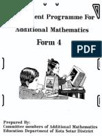 Enrich Add. Maths F4