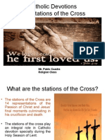 Catholic Devotions:The Stations of the Cross