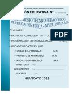 Diversificacion Curricular Primaria-secundaria - Ef
