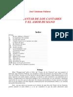 Cardenas, Jose - El Cantar de Los Cantares y El Amor Humano