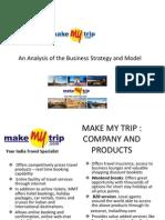 Make My Trip _ an Analysis