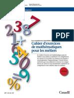 Cahier Exercises Mathematiques