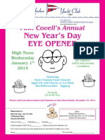 AHYC New Year's Day Eye Opener
