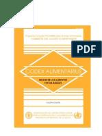 Higiene de Los Alimentos CODEX ALIMENTARIUS