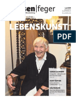 Lebenskunst - Ausgabe 22 2013 des strassenfeger