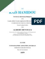 Albert Devoulx Rais Hamidou