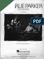 Charlie Parker - For Guitar.pdf