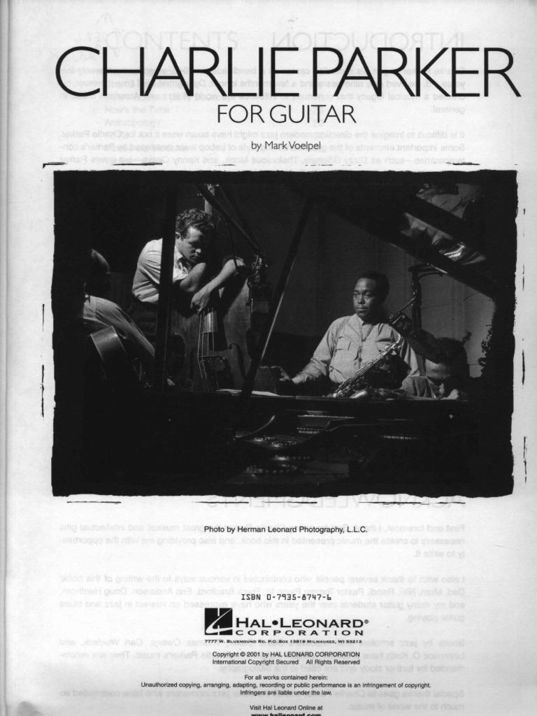 Charlie Parker - Til guitar Pdf-6982