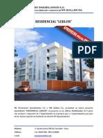 Proyecto Residencial Leblon