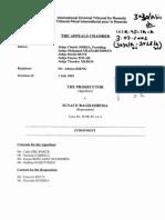 Drugostepena Presuda MKSR u Predmetu Bagilishema