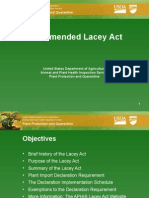Lacey Act Presentation August 2009