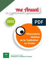 Informe Anual Publicidad Sexista Andalucia