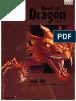 Accessory - Best of Dragon Magazine Volume 3