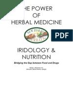 Herbs and Iridology