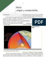 Geología - Guía Origen de la tierra - Descripción, origen, composición
