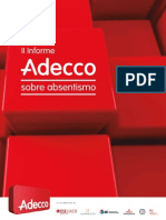 II Informe Adecco Absentismo 2013