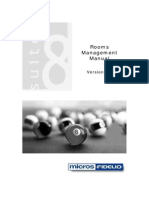 Version 8 Rooms Management Manual