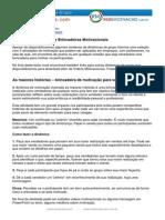 Dinamicas de Motivacao Esoterikha.com Redemotivacao.com.Br
