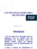01.- Las Finanzas como área de estudio