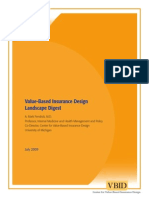 Value-Based Insurance Design Landscape Digest