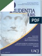 Prudentia Iuris - Número 1 - enero 2013