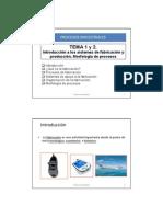 - Tema 1 y 2 Introducción a los Procesos