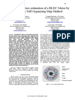 Optimal Parameters Estomation of BLDC Motor by Kohonen's Self Organizing Map Method [B. Jaganathan, Et Al]