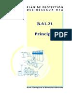 169684498 B 61 21 Plan de Protection Des Reseaux HTA