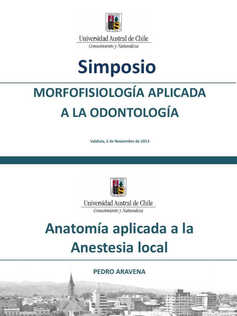 Anatomia aplicada anestesia local Chile | Dentistry | Mouth