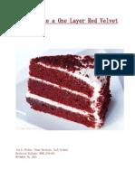 baking a cake manual