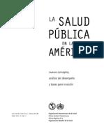 FESP Salud Publica en Las Americas