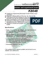 Manual K8048 Pic