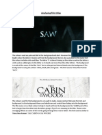 analysis film names