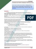 Acquisition des données sismiques en Profil Sismique Vertical (PSV)