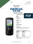 Nokia c1-01 Rm-607 Rm-608 Service Manual l1l2 v1.0