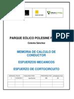 Memoria de Calculo de Conductor2 (Xdt)