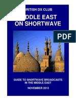 Middle East on Shortwave