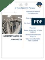 Implementacion de Un Cluster de Alta Disponibilidad
