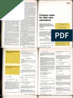 Compare Codes PSVs
