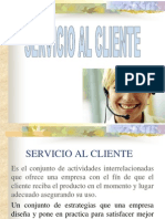 Servicio y Atencion Al Cliente