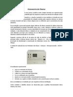 Fundamentos de Fotometria de Chama (Anotações)