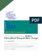 Ricette di Caterina Rebecchi (Fiorenzuola d'Arda - Piacenza) - MatildeTiramiSu!