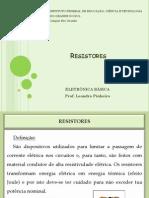 Aula 01 - Resistores