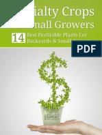 14 Best Profitable Plants eBook