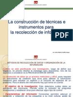 1. La observación - Instrumentos de investigación